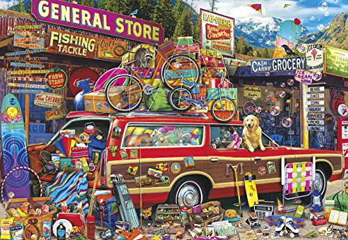 Buffalo Games - Aimee Stewart - Family Vacation - 2000 Piece Jigsaw Puzzle by Buffalo Games