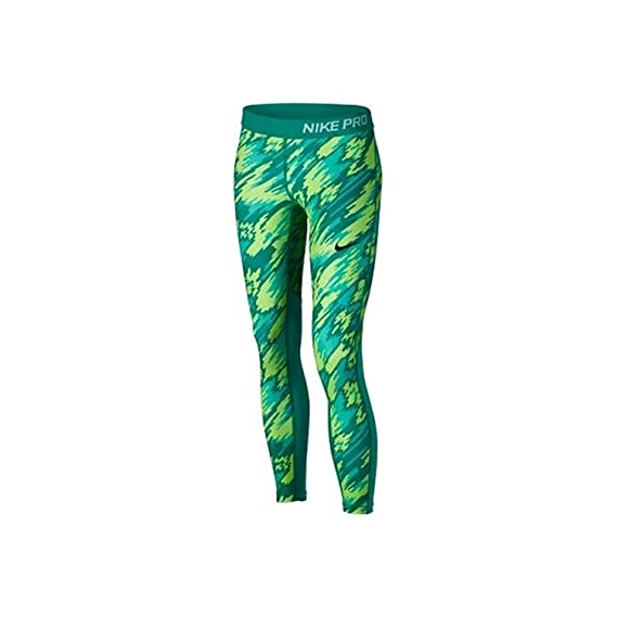 7b6931033568 Amazon.com  Nike Girl s Pro Hypercool Allover Print 3 4 Training Tights ( Large