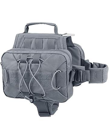 c899a3e126 EXCELLENT ELITE SPANKER Dog Pack Hound Backpack Saddle Bag for Travel  Camping Hiking Medium & Large