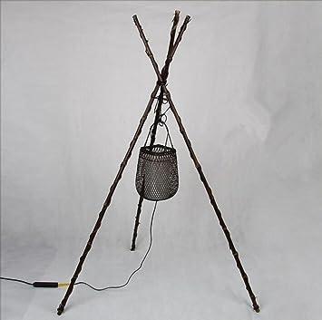 Perfekt Einfache Kreative Antike Handgemachte Bambus Stativ Fußboden Lampen  Wohnzimmer Schlafzimmer
