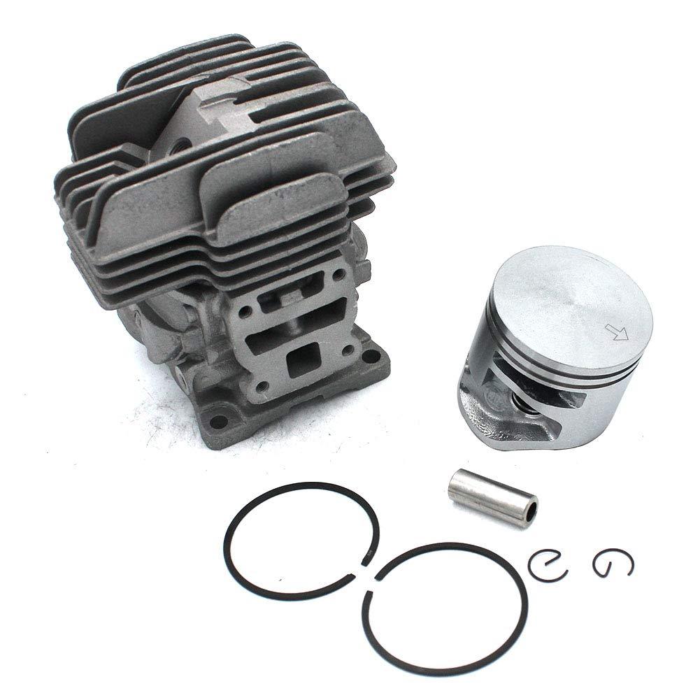 Juego de pistones de cilindro 40 mm para motosierra Stihl MS201 MS201T MS201 2-Mix MS201 cm PN # 1145 020 1200