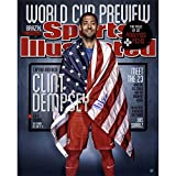 World Cup Soccer United States Clint Dempsey Signed USA Sports Illustrated Photograph, 16'' x 20''