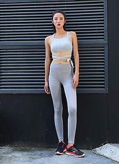 QINB Pantaloni da Yoga per Donna, Pantaloni Sportivi Elasticizzati