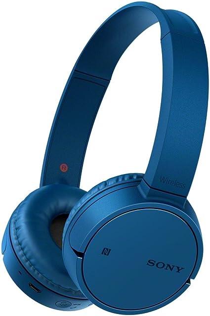 Sony MDR ZX220BT Cuffie Bluetooth, Driver da 30 mm, NFC, Blu