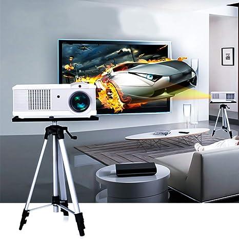 Projektor Beamer Laptop Stativ Ständer Alu Halterung Tisch Ablage Bodenständer