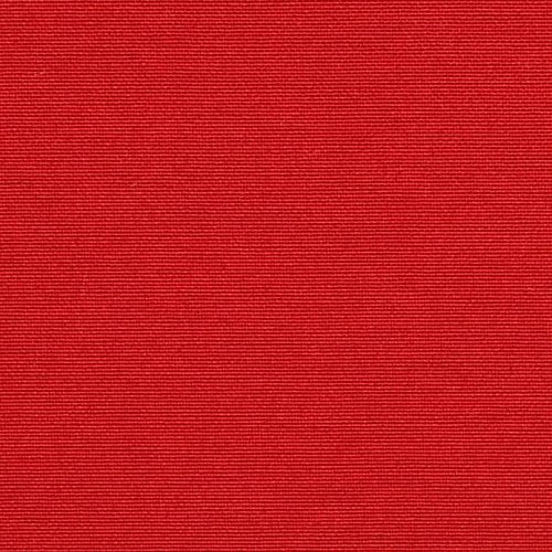 Universal 2'' Thick Foam Seat Cushion with Ties for Dining / Patio Chair - Solid Red - Choose Size (16'' x 16'')