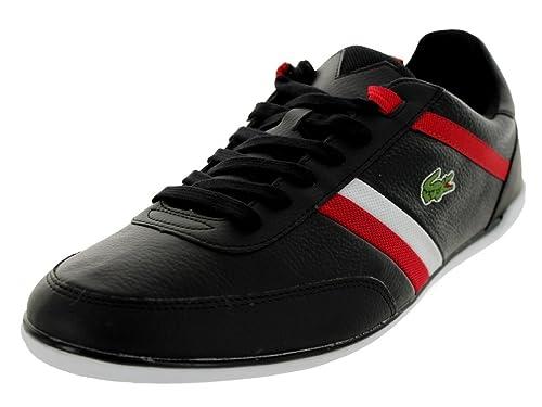 Lacoste Giron Pus US SPM Negro Rojo para Hombre Piel de Color Negro Zapatos  de Cordones Zapatillas Deportivas  Amazon.es  Zapatos y complementos bffabcb095