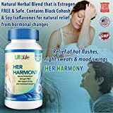Her Harmony #1 Best Menopause Supplement w/Black