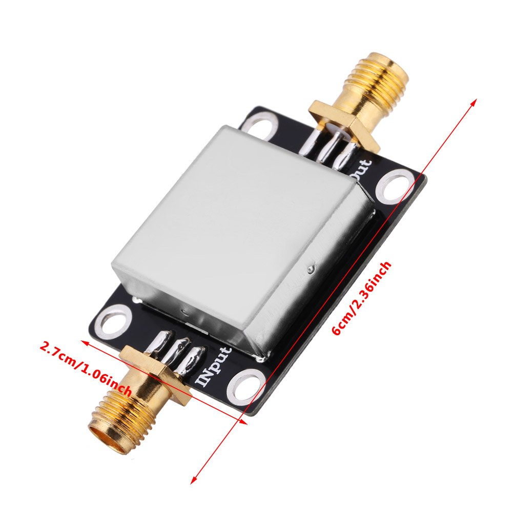 RF Envelope Detector High Frequency RF Envelope Detector Amplitude Detection Module Board, 0.1M-3.3GHz SMA Wide Frequency RF Envelope Detector Detection Module Board