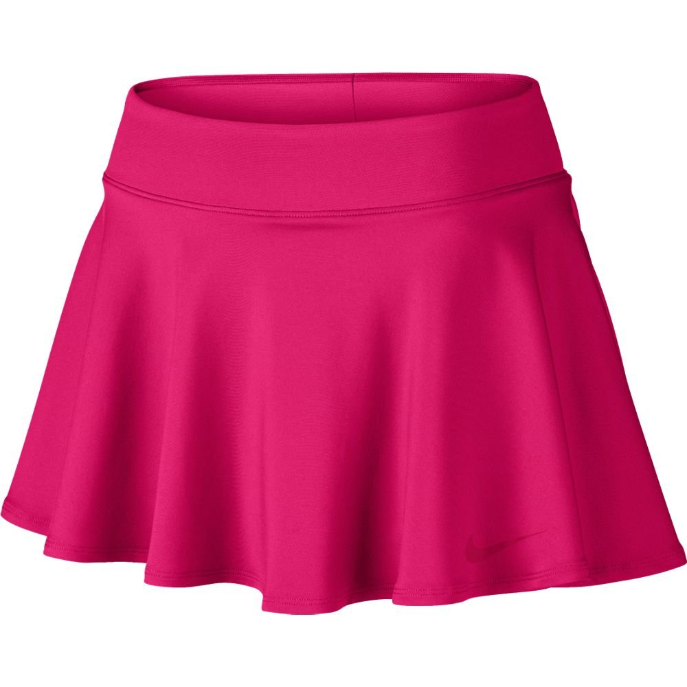 Women's Tennis Baseline Skirt (Medium, Fuchsia Flux)