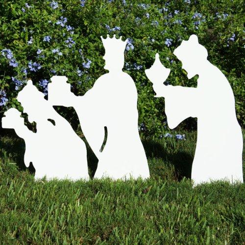Teak Isle Christmas Outdoor Nativity