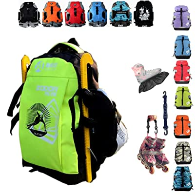 Denuoniss Professional Inline Skates Travel Backpack (#15 MIDDLE): Clothing