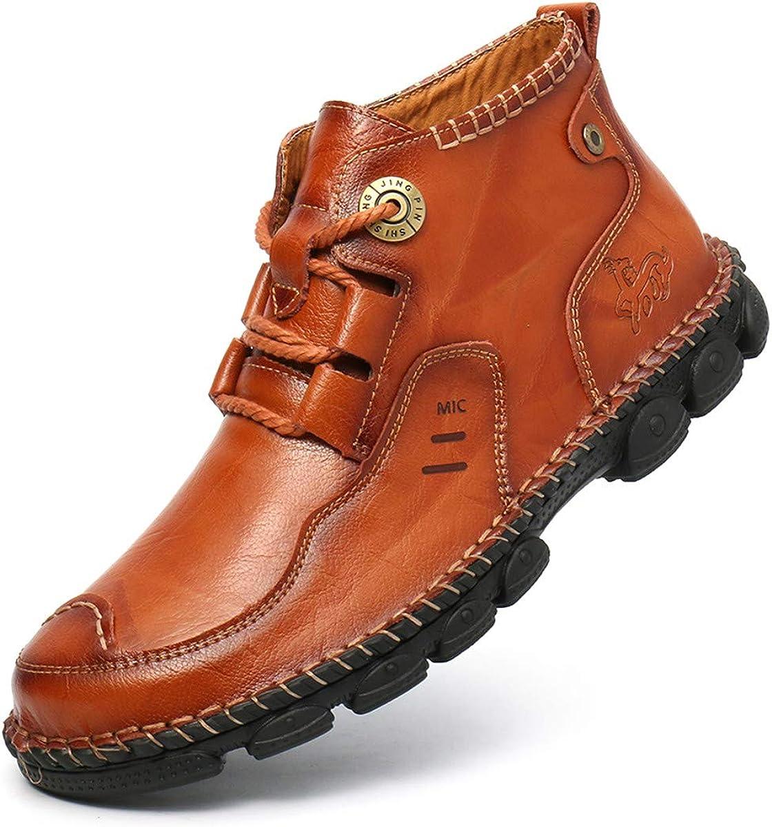 Amazon.com | Pumoes Mens Chukka Boots