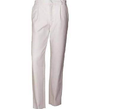 New Fashion - Pantalón de traje - para niño blanco blanco 32 ...