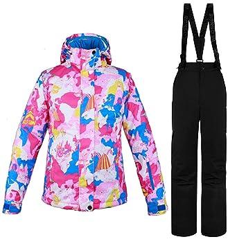 Gski Mujer Chaqueta de Esquí Resistente al Viento, Templado, Ventilación Esquí/Deportes Múltiples