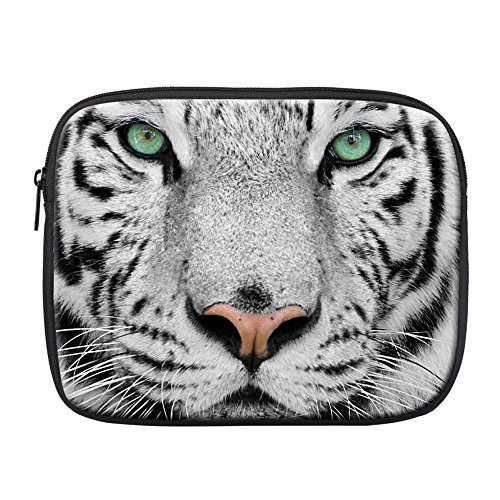 Coloranimal Bolso bandolera, tiger-1 (Multicolor) - K-3122H blanco (White Tiger)