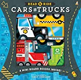 Read & Ride: Cars & Trucks: 4 board books inside!