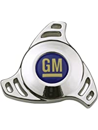 "Proform 141-332 Chrome Air Cleaner Wing Nut with Small Hi-Tech GM Logo for 1/4-20"" Thread"