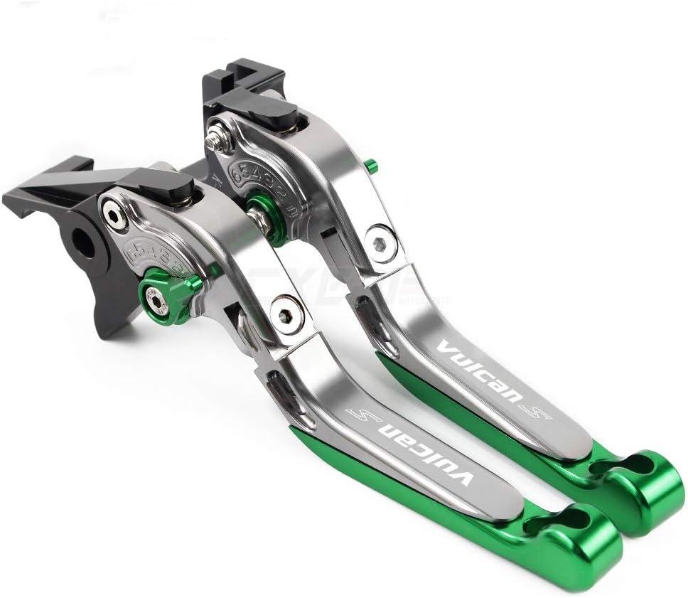 SHUAIFEI Motorcycle Folding Extendable Brake Clutch Levers Accessories for KAWASAKI VN 650 VULCAN S VN650 VULCANS 2015-2019