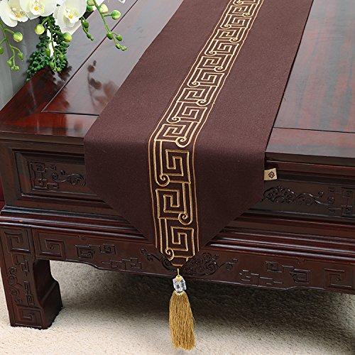 marcas de moda I Tabla Runneran Idílico elegante y simple Continental uomotel amortiguador amortiguador amortiguador de asiento de la tabla   J 33  230cm de cuadrícula 33150cm  calidad de primera clase