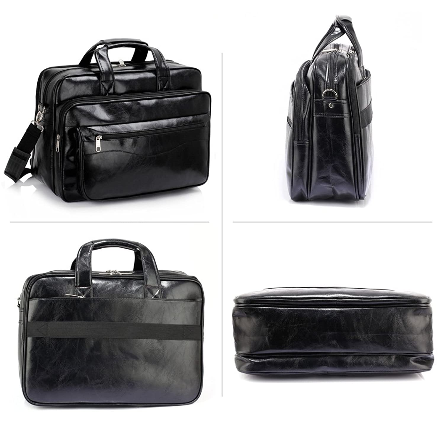 Mens And Womens Designer Handbags Shoulder Tote Bags For Office Use, Black:  Amazon.co.uk: Shoes & Bags
