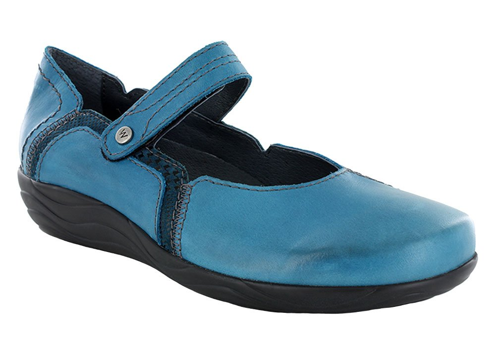 Wolky Comfort Lace up Shoes Dutch B00WDWGDZ4 37 M EU|Petrol Dessin Suede