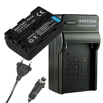 Cargador PATONA + Bateria para SONY NP-FM50 SONY NP FM 30 NP ...