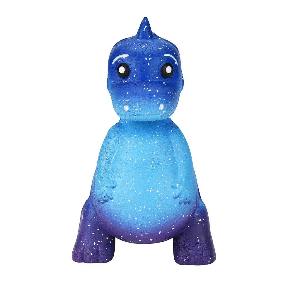 Fossrn Juguete de Galaxy Ciervo Kawaii Grande Animales con Perfumados Olor Juguetes de compresión (Dinosaurio/12 * 7cm): Amazon.es: Electrónica