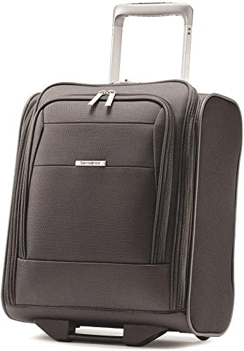 Samsonite Eco Lite Wheeled Carry-On Luggage Large Black Travel Bag