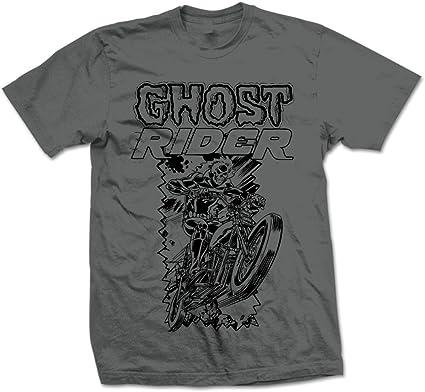 Marvel Comics Ghost Rider Camiseta para Hombre: Amazon.es: Ropa y accesorios