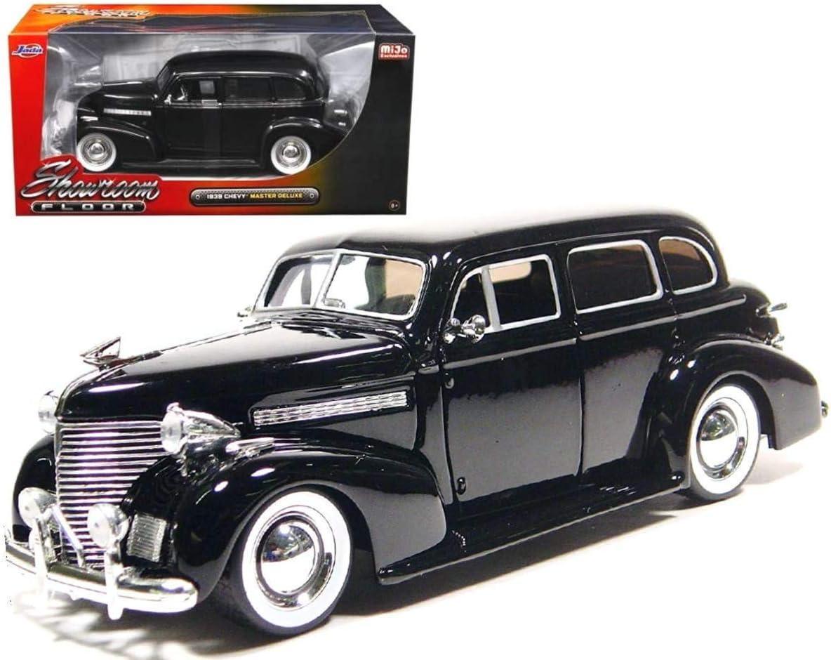 Chevrolet Chevy Master Deluxe Schwarz 1939 lowrider 1//24 Jada Modell Auto mit od
