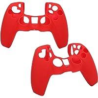 Capa para gamepad à prova de poeira, capa de silicone de material leve, Gamers anti-extrusão à prova de suor para PS5…