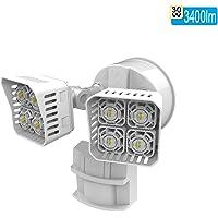 Sansi 250-watt Equivalent LED Motion Sensor (White)