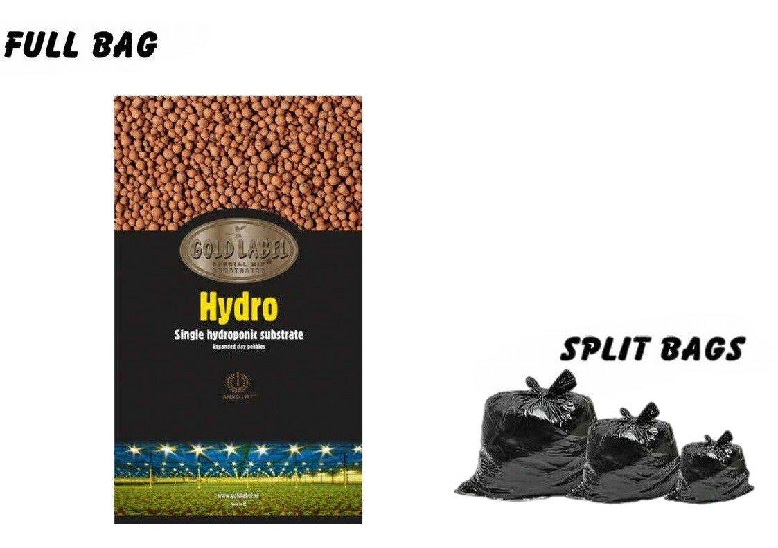 Gold Label Hydro Clay Balls 45 25 10 Litre Pebbles Hydroponic Media Hydro (10 Litre)