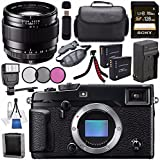Fujifilm X-Pro2 Mirrorless Digital Camera (Body Only) 16488618 + Fujifilm XF 23mm f/1.4 R Lens 16405575 + NP-W126 Lithium Ion Battery + Charger + Sony 128GB SDXC Card + Case + Tripod + Flash Bundle