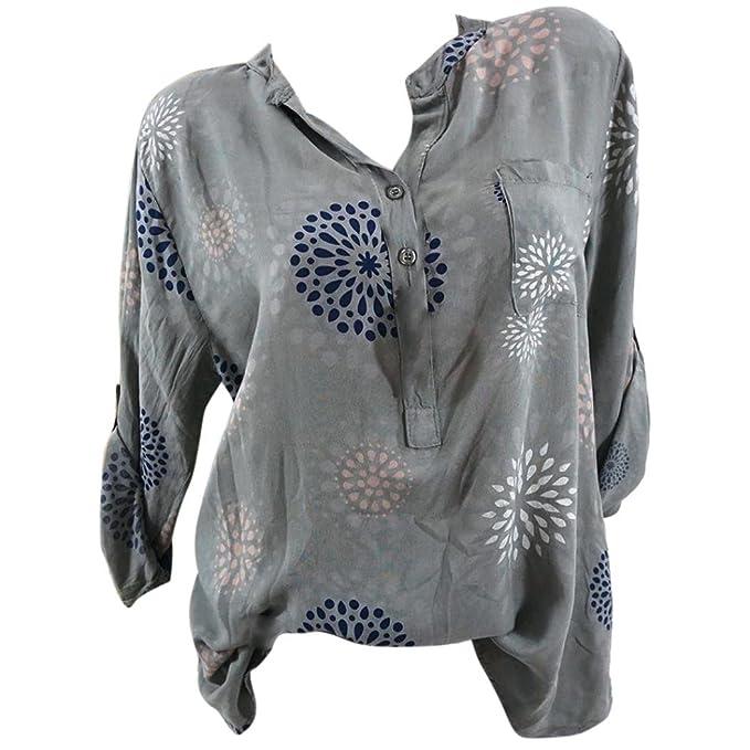 Amazon.com: Todaies Clearance - Blusa para mujer de tamaño ...