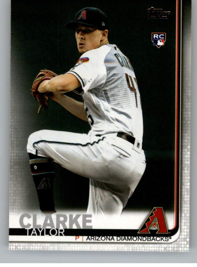 2019 Topps Update Series 3 #US169 Taylor Clarke RC Rookie Arizona Diamondbacks Official Baseball Trading Card