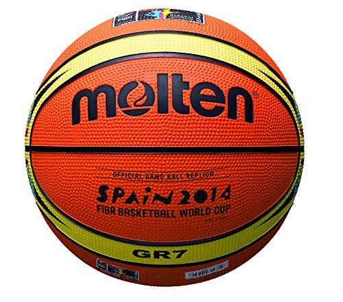Molten World Cup Edition Basketball - Orange, Size 1