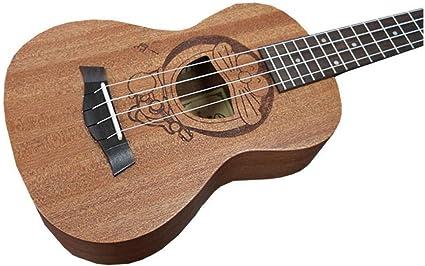 QLJ08 Ukulele de 23 pulgadas 4 cuerdas Mini guitarra 6 Tipos de ...