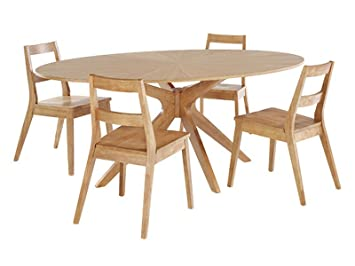 Fine Malmo Scandinavian Dining Set Dining Table And 4 Chairs Cjindustries Chair Design For Home Cjindustriesco