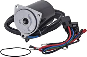Rareelectrical NEW TILT & TRIM MOTOR COMPATIBLE WITH 1987-91 YAMAHA OUTBOARD 70-90 HP 69J-43880-01-00 6263