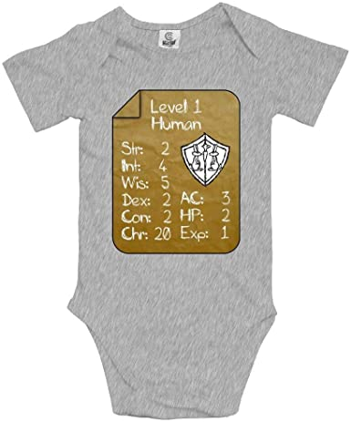Level 1 Human 100/% Cotton Comfortable and Soft Baby Boy Girl 1st Birthday Baby Onesie Bodysuit