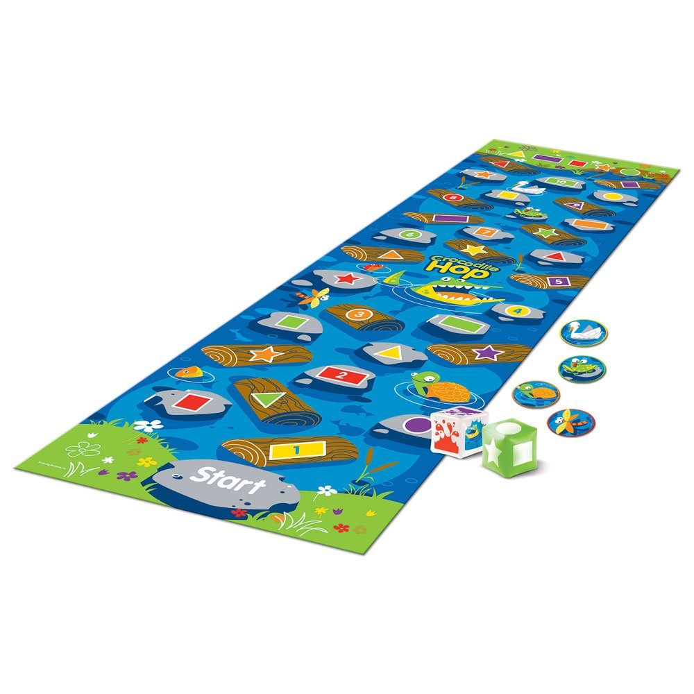 Learning Resources Crocodile Hop A Floor Mat Game 8