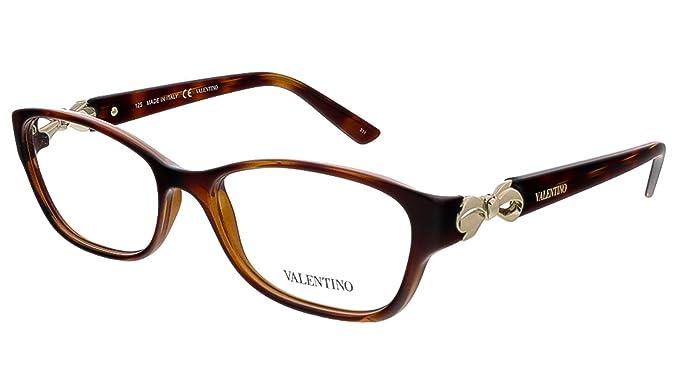 Amazon.com: Valentino anteojos V2621 214 la Habana 52 MM ...