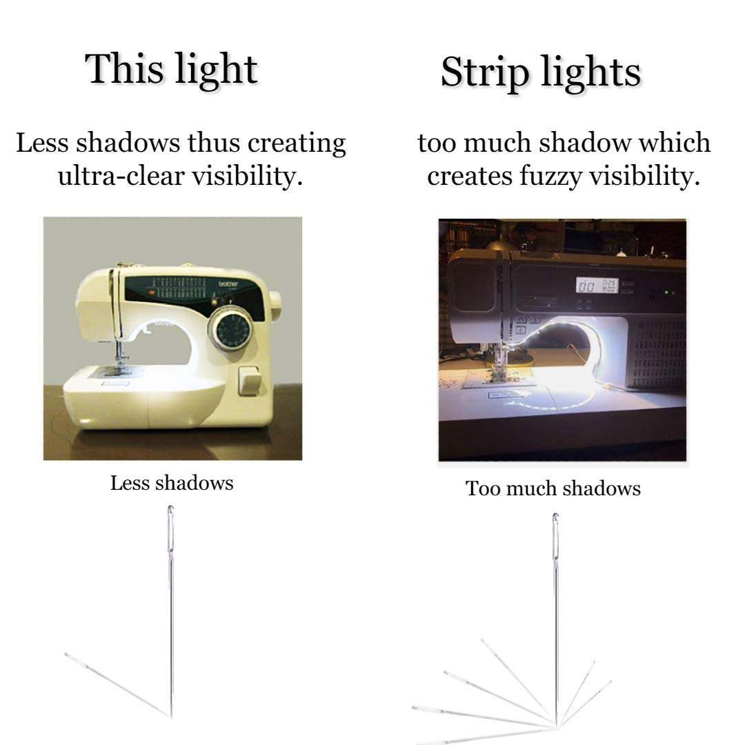 Craft LED Work Light Sewing Machine Strip Light Strip led Light led Sewing Machine Strip Light Box Shape Desk Energy Saving LED Machine Light for Drill Press