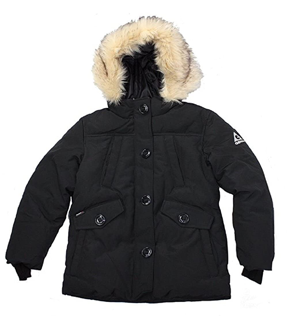 Gerry Girls Parka Coat With Detachable Hood With Faux Fur Trim