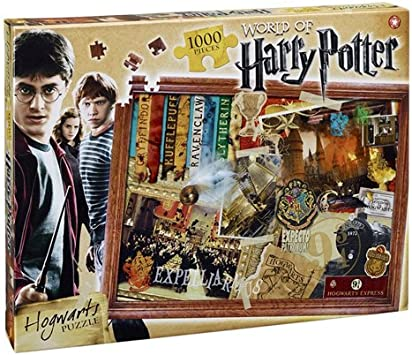 HARRY POTTER - Puzzle de 1000 piezas (Winning Moves 22576): Amazon ...