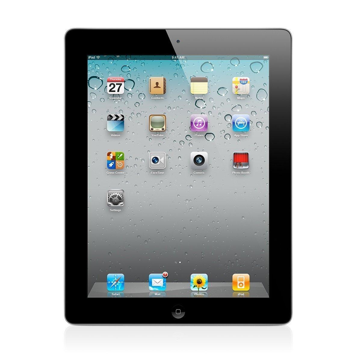 Apple iPad 2-16GB - WiFi - Space Gray (Certified Refurbished)
