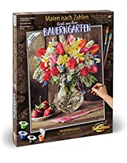 Schipper 609130790 Malen nach Zahlen - Ein Gruß aus dem Bauerngarten, 40 x 50 cm