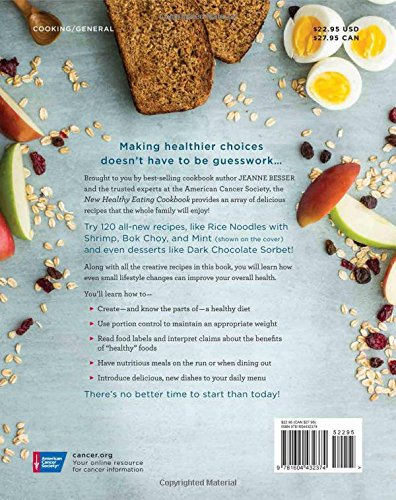 The American Cancer Society New Healthy Eating Cookbook (Healthy for Life) - http://medicalbooks.filipinodoctors.org